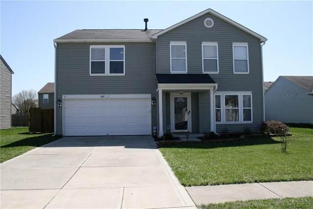 697 Hickory Pine Drive, New Whiteland, IN 46184 (MLS #21775930) :: David Brenton's Team