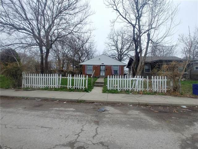 2616 E 17TH Street, Indianapolis, IN 46218 (MLS #21775946) :: Richwine Elite Group