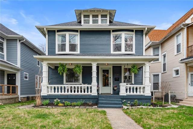 2346 Carrollton Avenue, Indianapolis, IN 46205 (MLS #21775957) :: The Indy Property Source