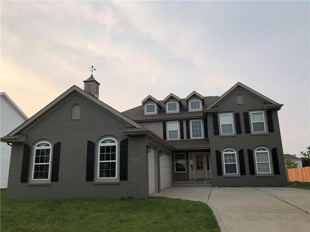 12612 Brookhaven Drive, Fishers, IN 46037 (MLS #21775983) :: Pennington Realty Team