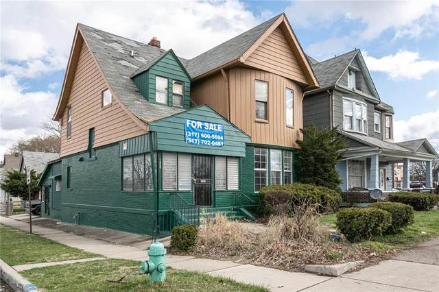 1802 E Washington Street, Indianapolis, IN 46201 (MLS #21776004) :: The Indy Property Source