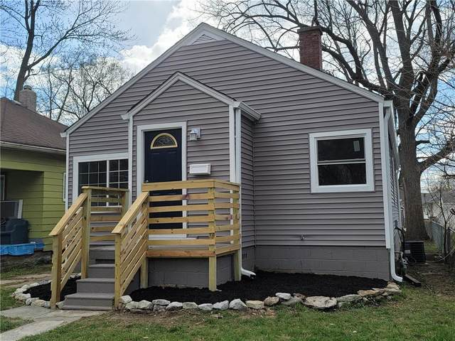 624 N Alton Avenue, Indianapolis, IN 46222 (MLS #21776043) :: The Indy Property Source