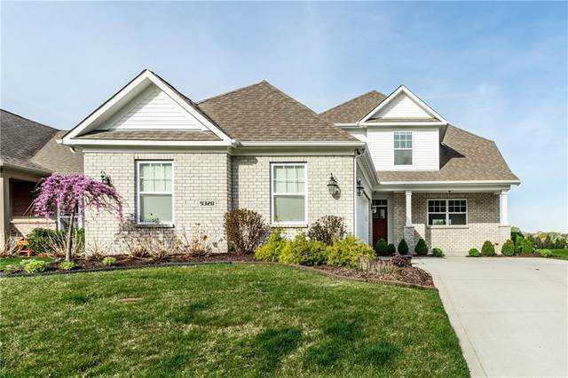 9320 Crystal River Drive, Indianapolis, IN 46240 (MLS #21776098) :: The Evelo Team