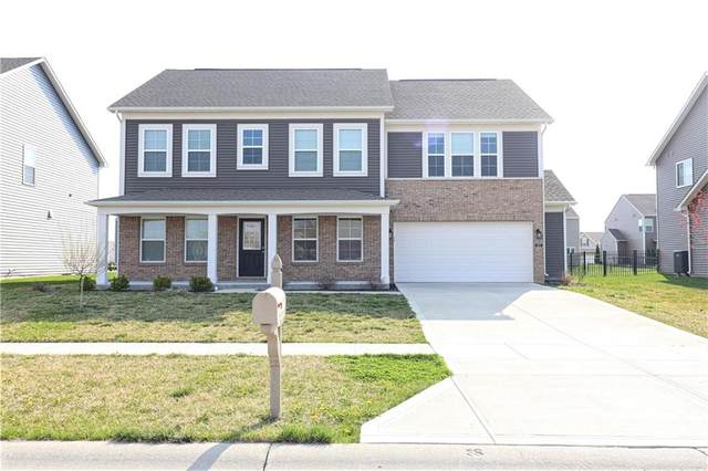 1475 Glen Canyon Drive, Greenwood, IN 46143 (MLS #21776169) :: The Indy Property Source