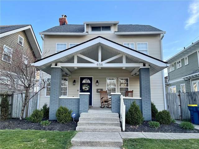 656 E 42nd Street, Indianapolis, IN 46205 (MLS #21776178) :: Heard Real Estate Team | eXp Realty, LLC
