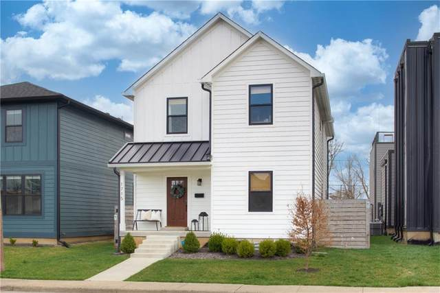 1715 Carrollton Avenue, Indianapolis, IN 46202 (MLS #21776184) :: The Indy Property Source