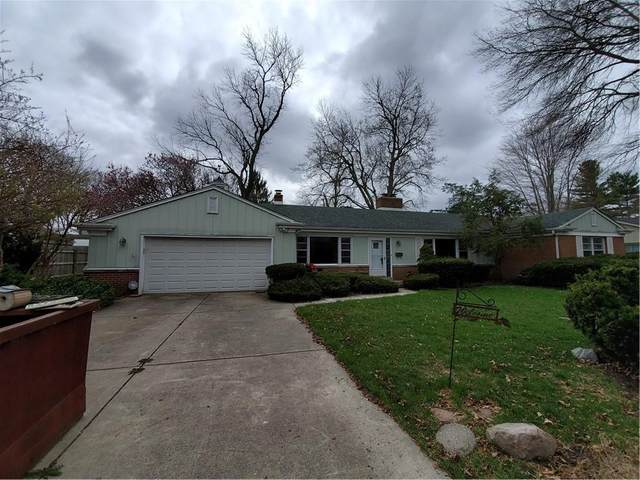 3511 Oakwood Drive, Anderson, IN 46011 (MLS #21776207) :: The Evelo Team