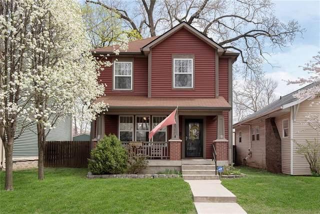 2833 N Talbott Street, Indianapolis, IN 46205 (MLS #21776214) :: Heard Real Estate Team | eXp Realty, LLC