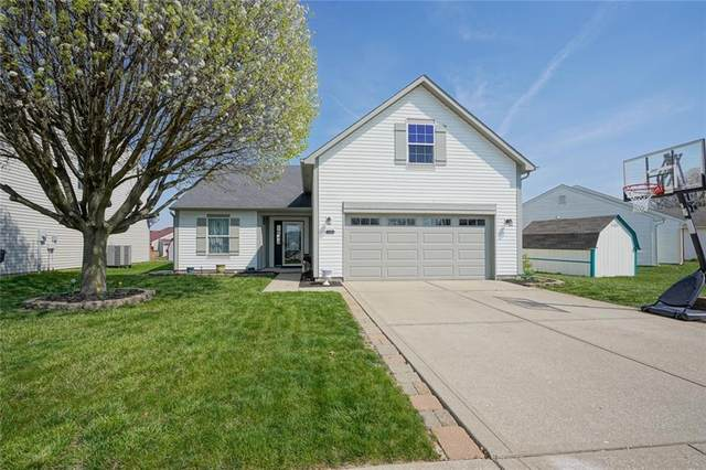 1120 N Central Park Boulevard, Greenwood, IN 46143 (MLS #21776266) :: The Indy Property Source