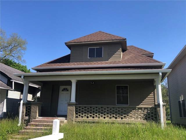 1254 W 25TH Street, Indianapolis, IN 46208 (MLS #21776273) :: The Evelo Team