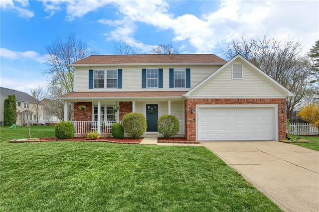 9609 Turnberry Court, Carmel, IN 46032 (MLS #21776283) :: The Evelo Team