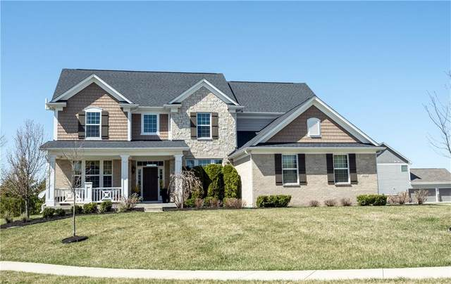 4232 Liston Drive, Carmel, IN 46074 (MLS #21776333) :: The Indy Property Source