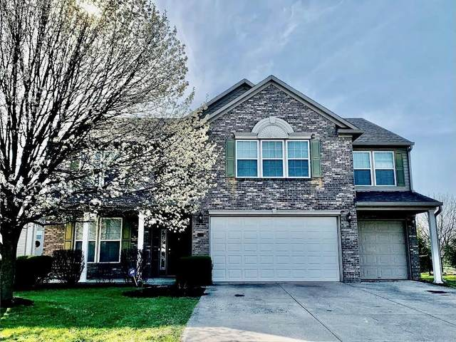 4058 S Stonebridge Court, New Palestine, IN 46163 (MLS #21776354) :: The Indy Property Source