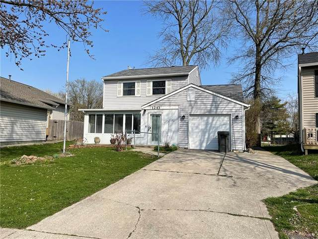 1243 Amelia Drive, Indianapolis, IN 46241 (MLS #21776363) :: The Evelo Team