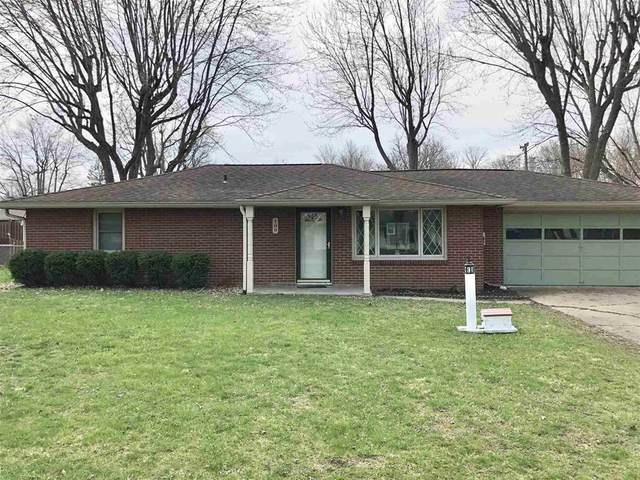 109 Cottonwood Drive, Anderson, IN 46012 (MLS #21776433) :: Mike Price Realty Team - RE/MAX Centerstone