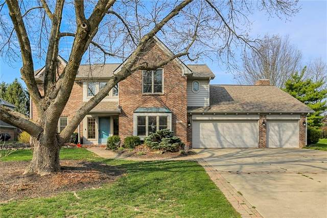 1815 Continental Drive, Zionsville, IN 46077 (MLS #21776463) :: Anthony Robinson & AMR Real Estate Group LLC