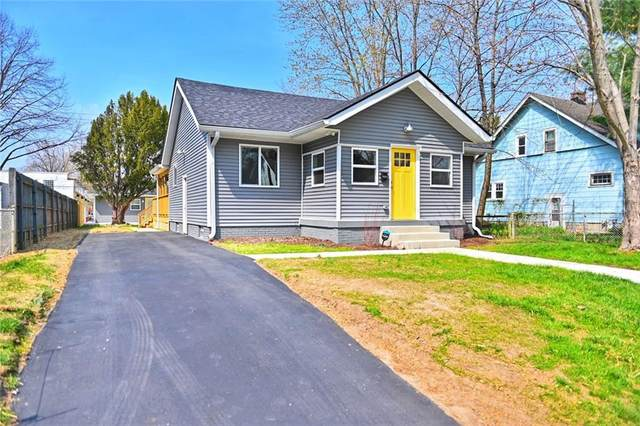 4922 Carrollton Avenue, Indianapolis, IN 46205 (MLS #21776467) :: Heard Real Estate Team | eXp Realty, LLC