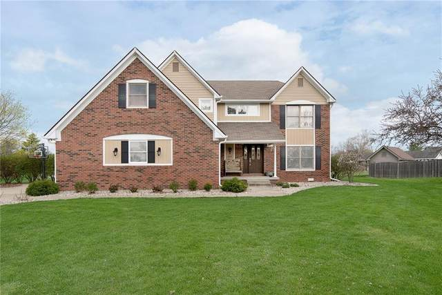 2411 Griton Court, Shelbyville, IN 46176 (MLS #21776477) :: Mike Price Realty Team - RE/MAX Centerstone