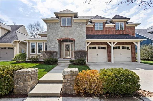 7653 Carriage House Way, Zionsville, IN 46077 (MLS #21776480) :: The Evelo Team