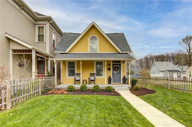 1310 E 9th Street, Indianapolis, IN 46202 (MLS #21776526) :: Pennington Realty Team