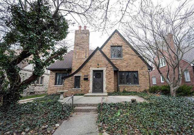 5134 N Illinois Street, Indianapolis, IN 46208 (MLS #21776564) :: AR/haus Group Realty