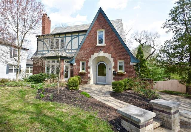 7045 Central Avenue, Indianapolis, IN 46220 (MLS #21776566) :: The Evelo Team