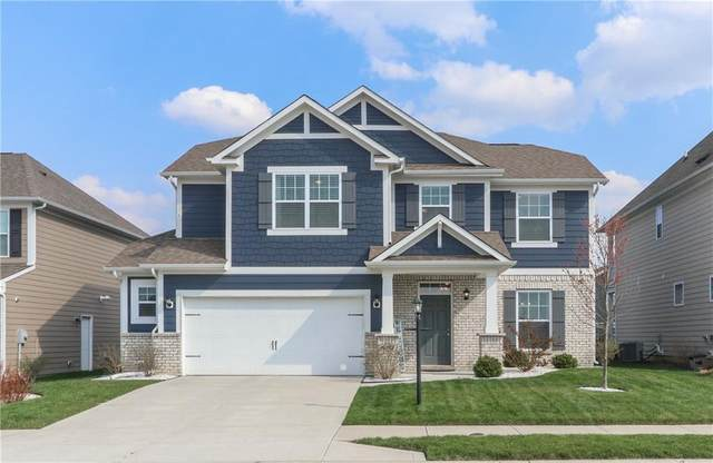 6197 Sugar Maple Drive, Zionsville, IN 46077 (MLS #21776574) :: Anthony Robinson & AMR Real Estate Group LLC