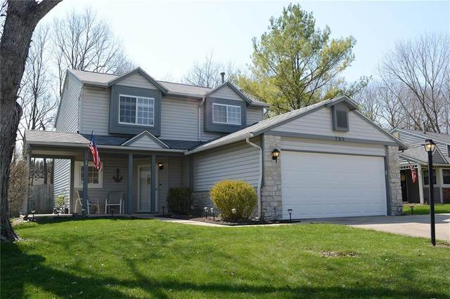 725 Westridge South Drive, Noblesville, IN 46062 (MLS #21776647) :: The Indy Property Source