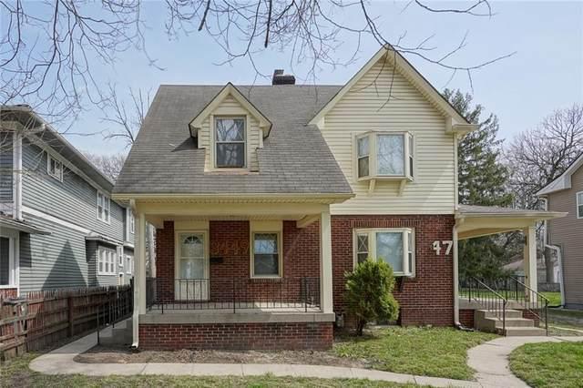 3447 Winthrop Avenue, Indianapolis, IN 46205 (MLS #21776655) :: Heard Real Estate Team | eXp Realty, LLC