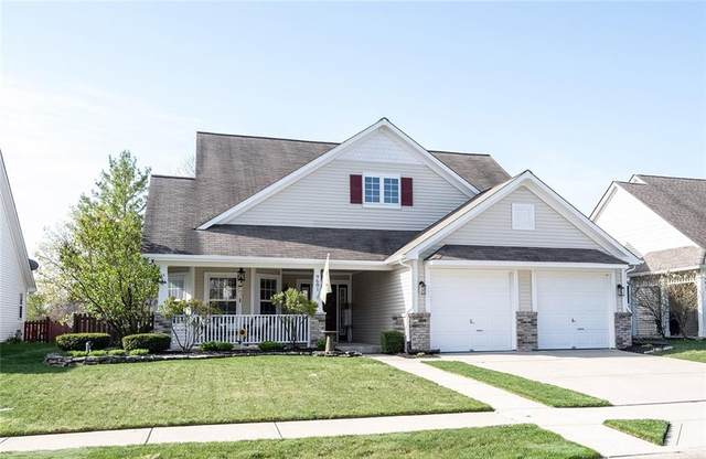 9681 Indigo Lane, Fishers, IN 46038 (MLS #21776674) :: Mike Price Realty Team - RE/MAX Centerstone