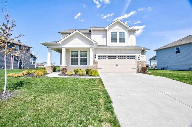 15404 Eastpark Circle W, Fishers, IN 46037 (MLS #21776699) :: Anthony Robinson & AMR Real Estate Group LLC