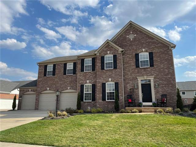 347 Prebster Drive, Brownsburg, IN 46112 (MLS #21776754) :: Mike Price Realty Team - RE/MAX Centerstone