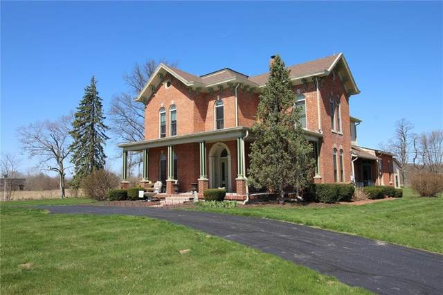 5598 W Old National Road, Knightstown, IN 46148 (MLS #21776797) :: Mike Price Realty Team - RE/MAX Centerstone