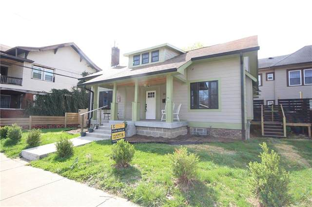 311 E 31st Street, Indianapolis, IN 46205 (MLS #21776800) :: The Evelo Team
