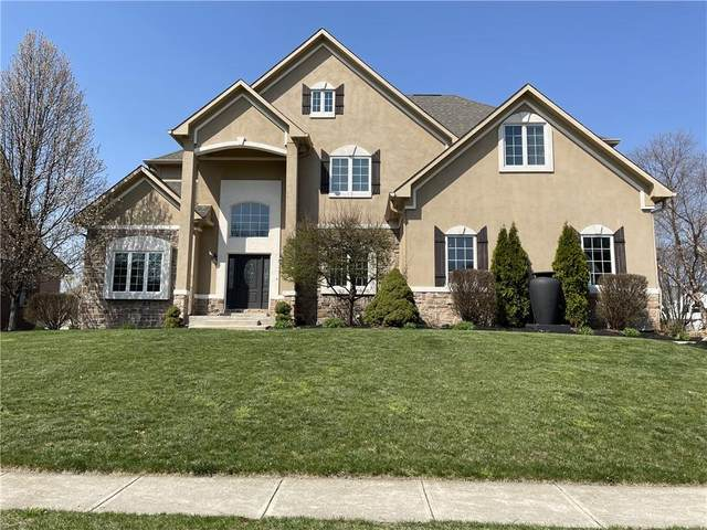 10327 Watercrest Drive, Fishers, IN 46038 (MLS #21776821) :: The Evelo Team