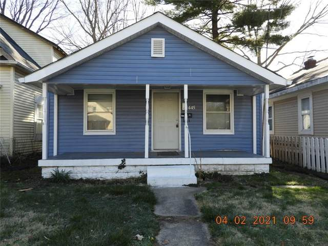 445 N Goodlet Avenue, Indianapolis, IN 46222 (MLS #21776845) :: Anthony Robinson & AMR Real Estate Group LLC