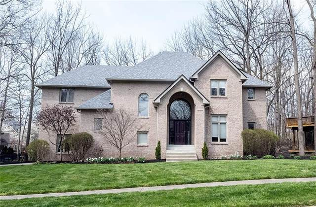 8678 Admirals Woods Drive, Indianapolis, IN 46236 (MLS #21776859) :: The ORR Home Selling Team