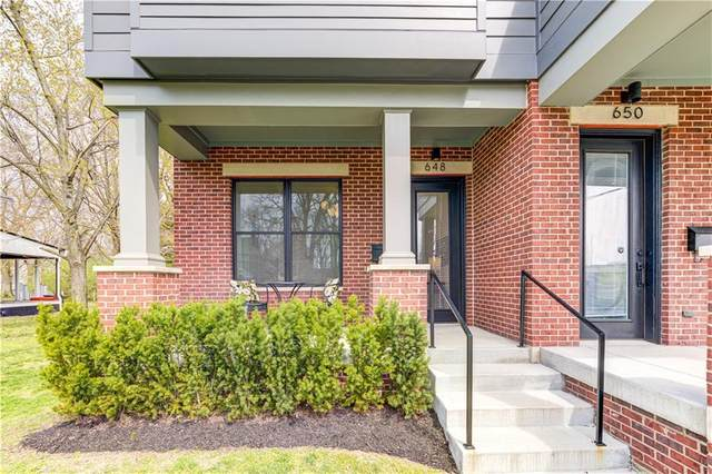 648 E 13th Street, Indianapolis, IN 46202 (MLS #21776925) :: Richwine Elite Group