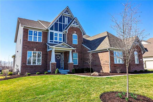 15133 Lansbury Lane, Fishers, IN 46037 (MLS #21776935) :: The Evelo Team