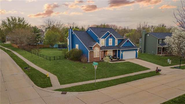3153 Andover Court, Greenwood, IN 46142 (MLS #21776994) :: Mike Price Realty Team - RE/MAX Centerstone