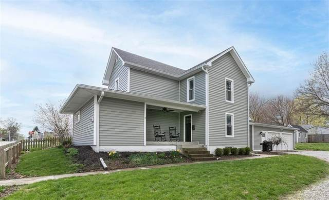 152 N Wayne Street, Danville, IN 46122 (MLS #21777023) :: The ORR Home Selling Team