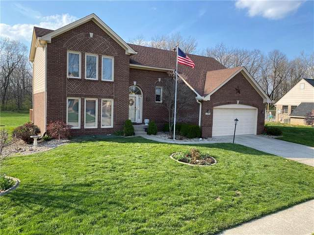 904 Creekside Lane, Plainfield, IN 46168 (MLS #21777077) :: The Evelo Team