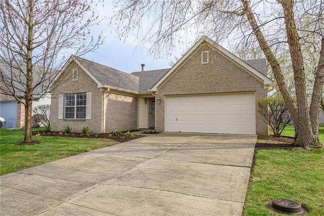 7155 Woodgate Drive, Fishers, IN 46038 (MLS #21777136) :: The ORR Home Selling Team