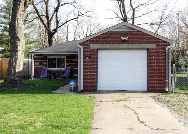 7133 E 48th Street, Indianapolis, IN 46226 (MLS #21777212) :: Mike Price Realty Team - RE/MAX Centerstone