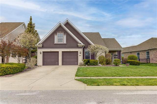 4664 Rainmaker Row, Greenwood, IN 46143 (MLS #21777241) :: Mike Price Realty Team - RE/MAX Centerstone
