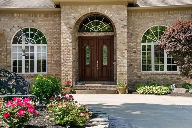 14555 Geist Ridge Drive, Fishers, IN 46040 (MLS #21777261) :: Heard Real Estate Team | eXp Realty, LLC