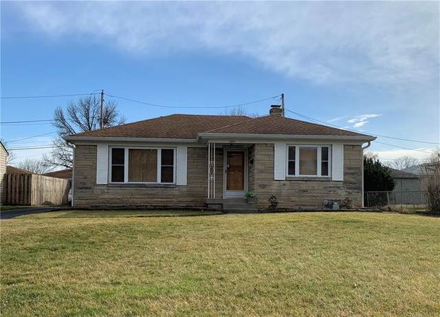 5417 E 13th Street, Indianapolis, IN 46219 (MLS #21777264) :: Mike Price Realty Team - RE/MAX Centerstone