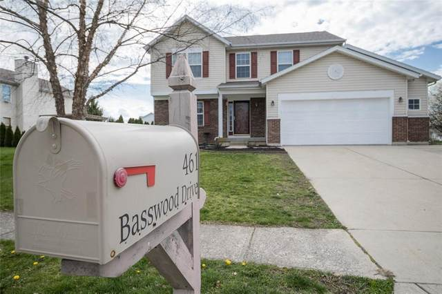 461 Basswood Drive, Greenwood, IN 46142 (MLS #21777406) :: Mike Price Realty Team - RE/MAX Centerstone