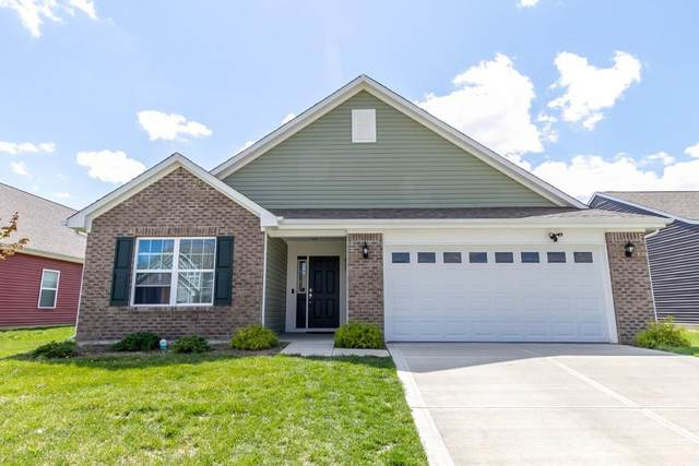 817 Blue Ash Trail, Greenwood, IN 46143 (MLS #21777507) :: David Brenton's Team
