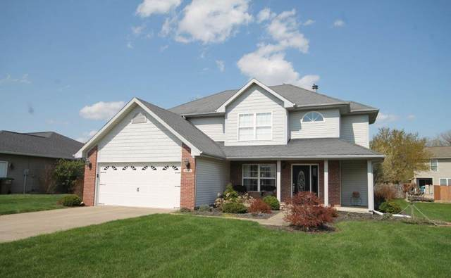 6143 E Meadow Ridge Road, Columbus, IN 47203 (MLS #21777559) :: Mike Price Realty Team - RE/MAX Centerstone